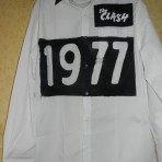 The CLASH / JOE STRUMMER – UNIQUE 1977 PUNK SHIRT