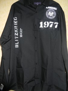 Ramones black blitzkrieg