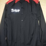 The CLASH – Red epaulette shirt    punk 1977 new wave
